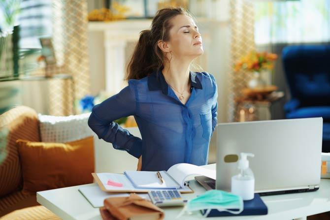 Rückenschmerzen und Stress
