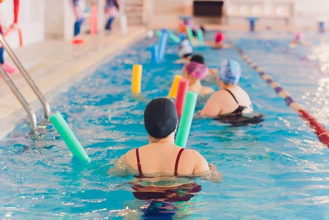 Schwimmen gegen Übergewicht