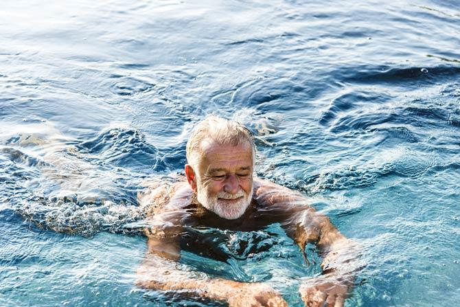 Schwimmen trainiert Herzmuskel