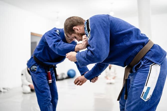 Viele Zweikämpfe beim Brazilian Jiu-Jitsu
