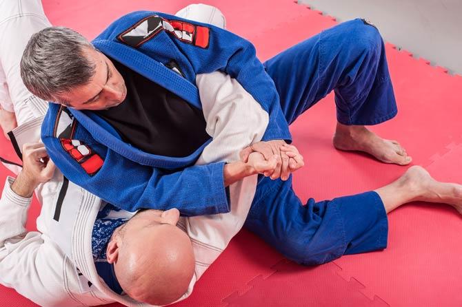 Ziel von Brazilian Jiu-Jitsu
