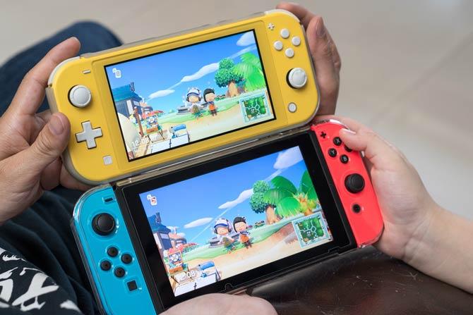 Nintendo Switch und Nintendo Switch Lite