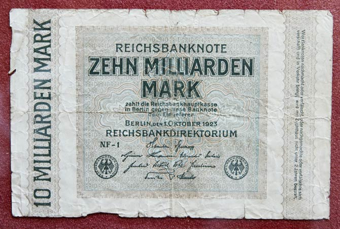 Deutschland Hyperinflation