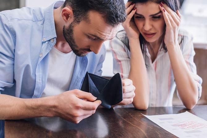 Finanzielle Probleme aufgrund der Coronakrise