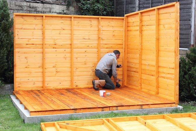 Wann ist für den Bau eines Gartenhauses eine Baugenehmigung erforderlich?