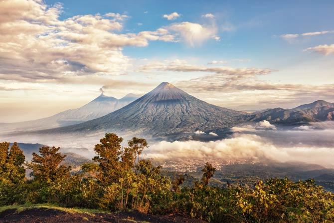 Pacaya Vulkan in Guatemala