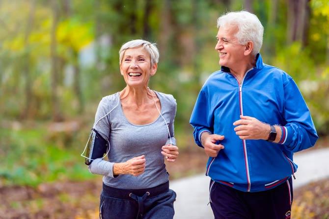 Bewegung reduziert Stress