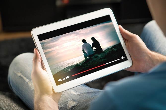 Film über Streaming-Portal