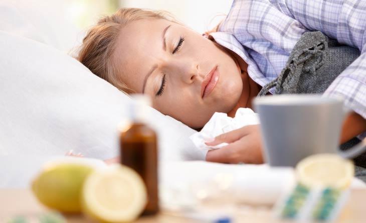 Gesunder Schlaf trotz Erkältung