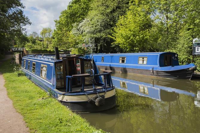 Hausboote für Reisen in England