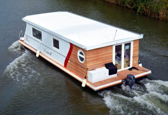 Hausboote liegen voll im Trend