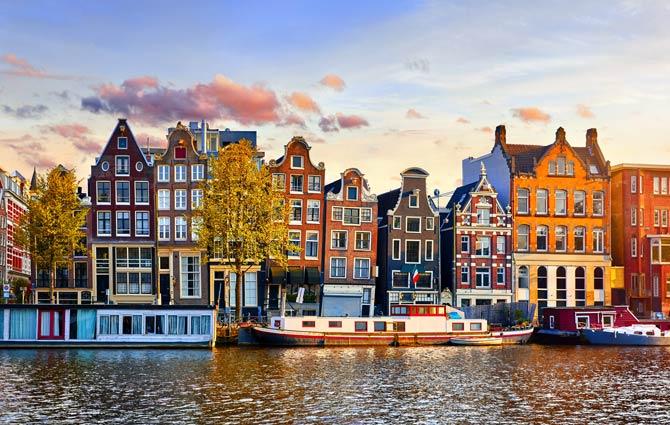 Hausbooturlaub in Amsterdam