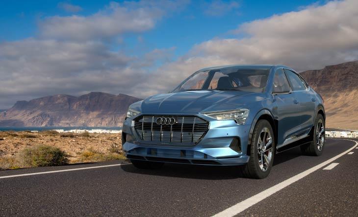 Hybridauto Audi E-Tron