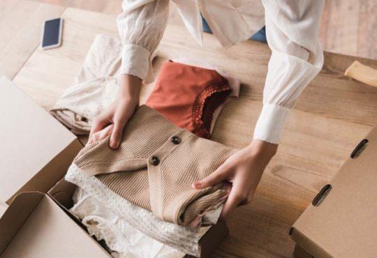 Kleidung einlagern
