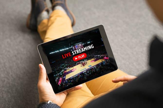Live-Streaming von Sportveranstaltungen