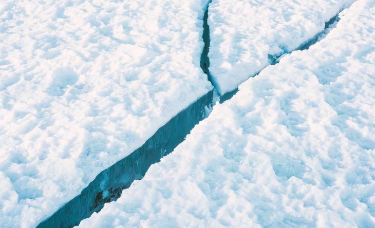 Riesiger Eisberg abgebrochen