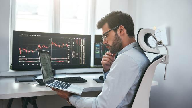 Altersgruppe Online Trader