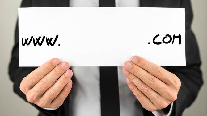 Domainnamen sollten auch mündlich einfach mitzuteilen sein