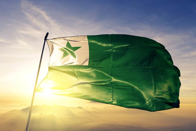 Die Esperantoflagge