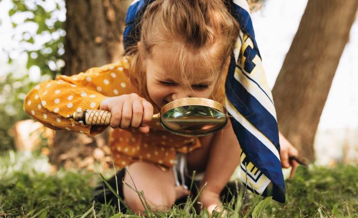 Kindern die Natur näherbringen