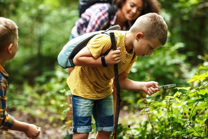 Naturerfahrungen für Kinder