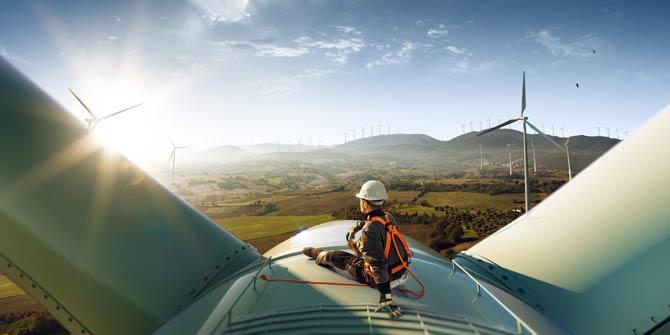 Natürlichen Ressourcen - erneuerbare Energien