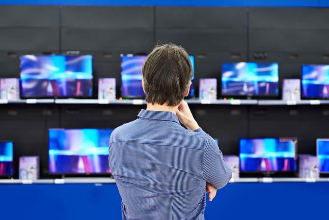 Welche Fernsehgröße darf es sein?