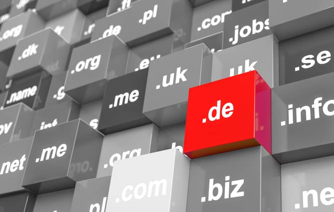 250.000 neue .de-Domains