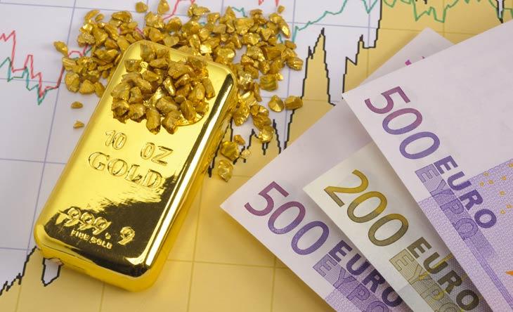 Junge Menschen investieren in Gold und Aktien