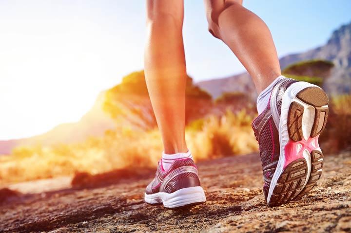 Dämpfung und Flexibilität der Laufschuhe