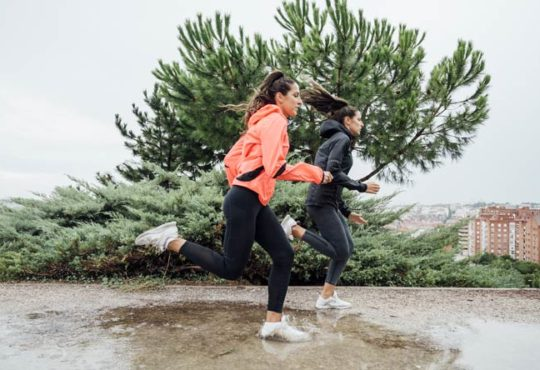 Mit der richtigen Sportbekleidung dem Wetter trotzen