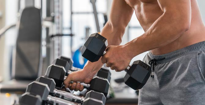 Stärkere Muskulatur macht den Körper unbeweglich