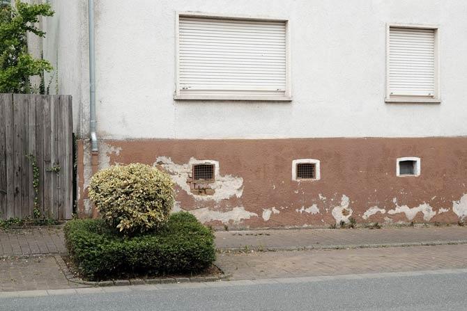 Unterschiedliche Bausubstanzen