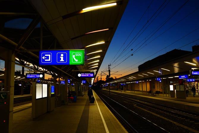 Bahnhof in Österreich