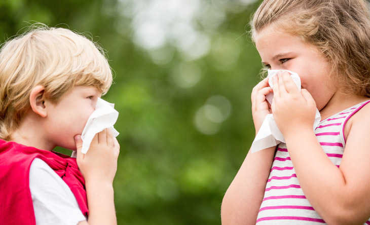 Immer mehr Kinder leiden an Allergien