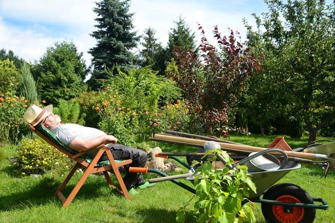 Oase der Entspannung kreieren