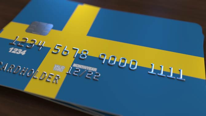 Die Schweden leben nahezu bargeldlos