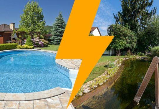 Pool vs. Schwimmteich