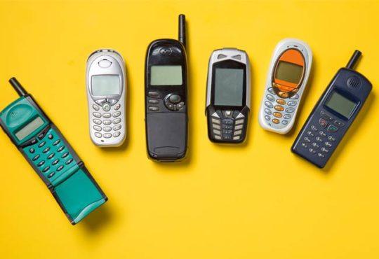 Handys im Wandel der Zeit