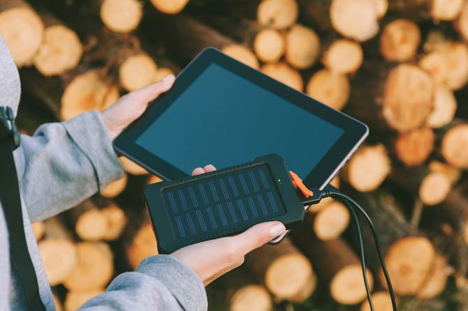 Powerbank Tablet