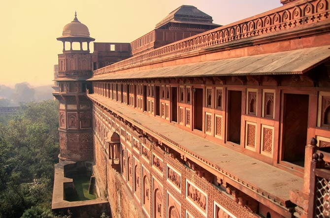 Rote Fort in Agra
