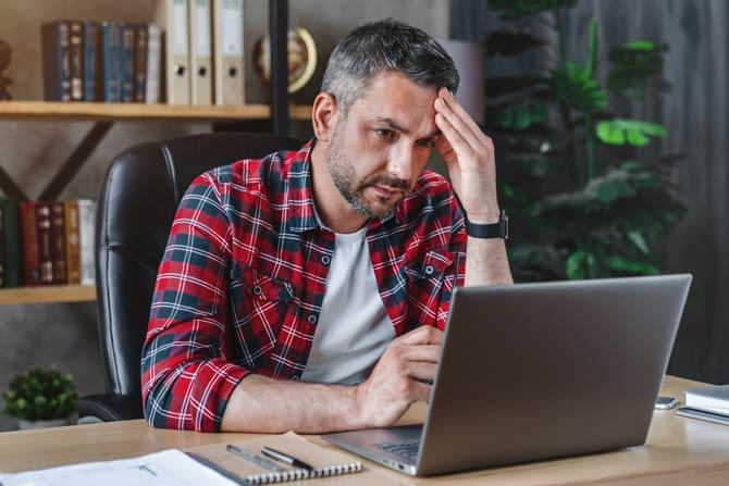 Stressfaktor Job