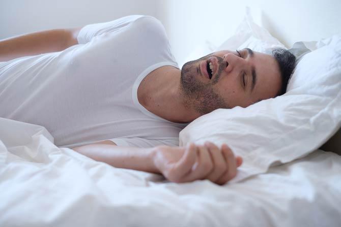 Symptome einer Schlafapnoe