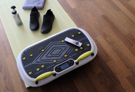 Training mit Vibrationsplatte
