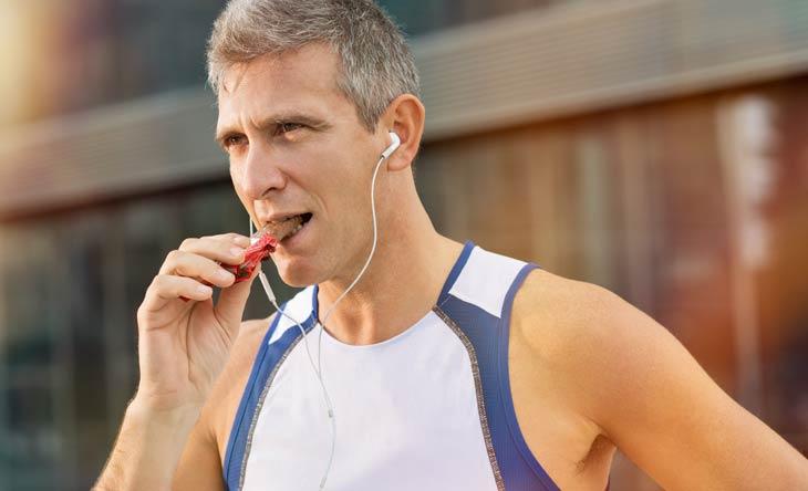 Benötigen Läufer Energieriegel?