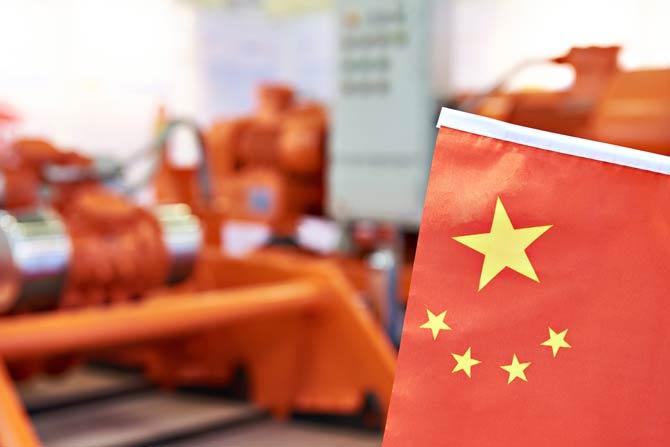 Chinesischer Wirtschaftsmarkt