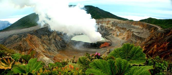 Vulkantourismus