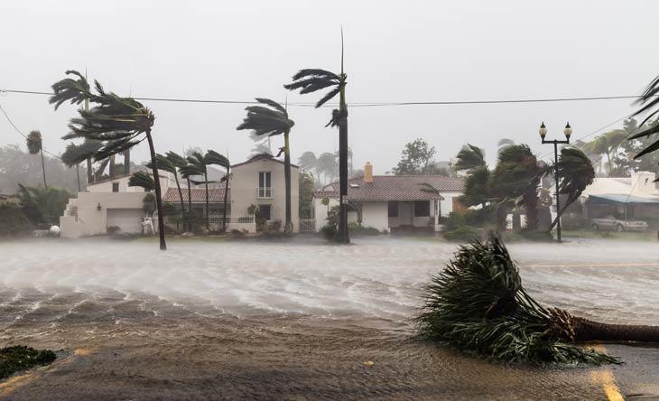 Wetterbedingte Katastrophen